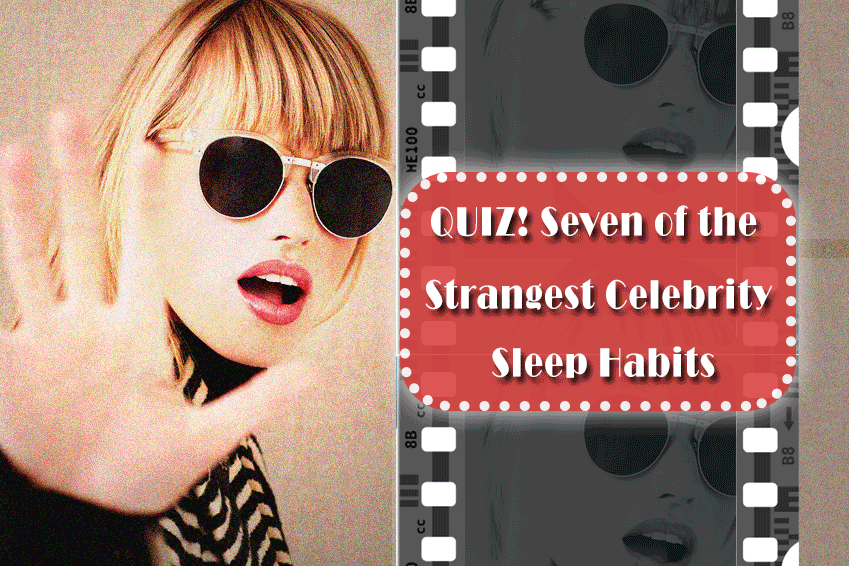 Strangest Celebrity Sleep Habits