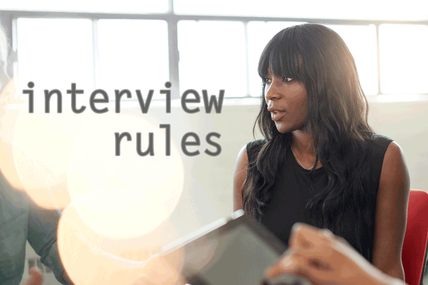 Job Interview Rules